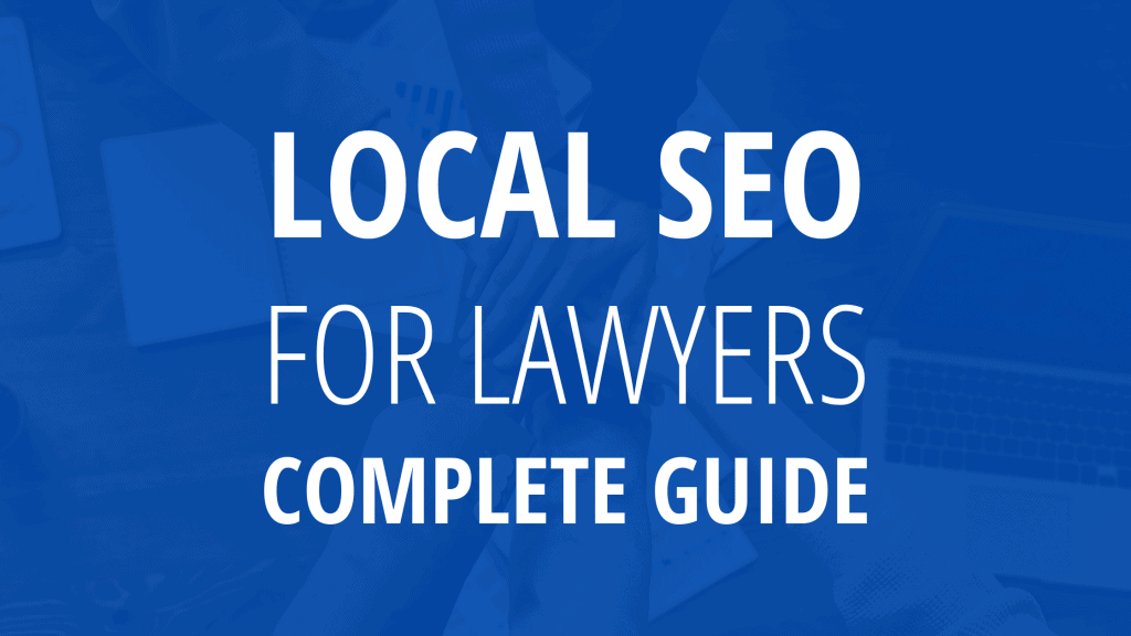 local seo for lawyers
