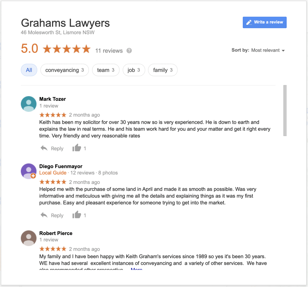 local seo guide reviews