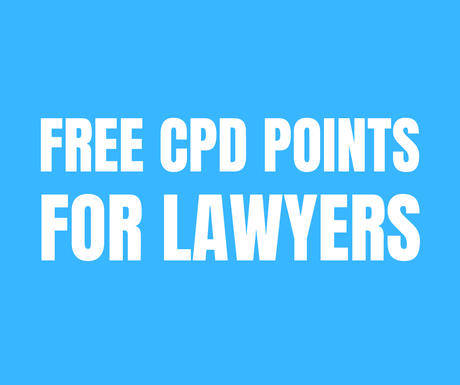 CPD Points Lawyers
