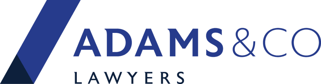 adams & co lawyers