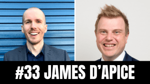 James d'Apice (Coffee & a Case Note, Special Counsel at Chamberlains Law Firm): How to efficiently leverage 7 content marketing platforms to build a personal brand. (ep. 33)