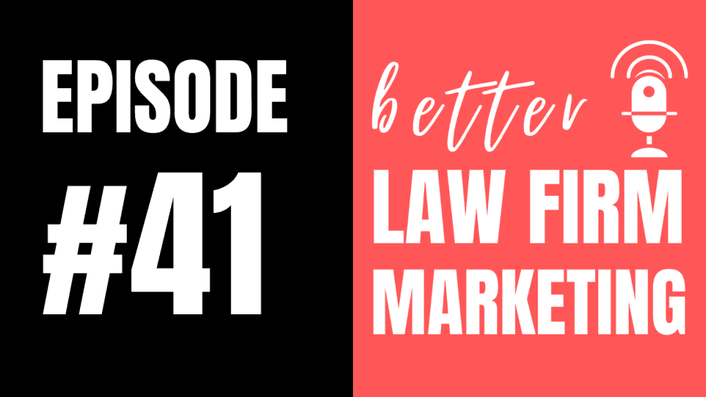 Should law firms buy website domains that contain keywords? (ep 41)