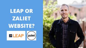 Leap Website or Zaliet Website