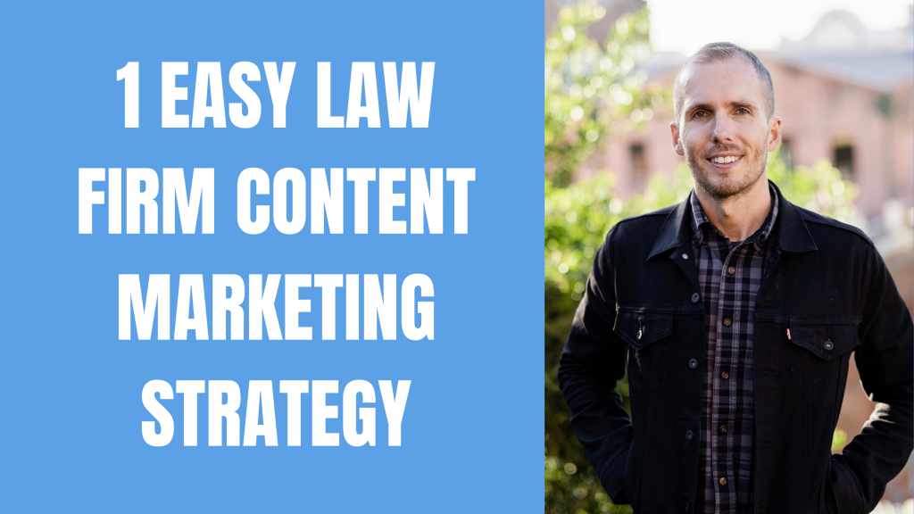 How to never run out of law firm content marketing ideas (it's easy)